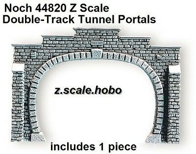 Noch Z Scale 44820 Stone Tunnel Portal Double Track Foam *NEW $0 Shipping