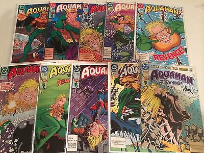 Aquaman 1991 series #1-10 McLaughlin Ken Hooper high grade
