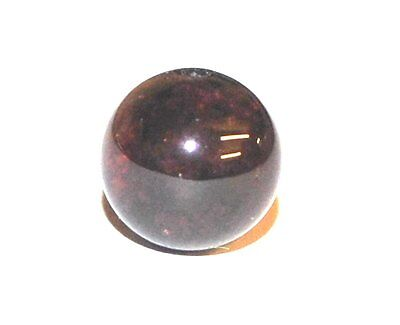Semi Precious Garnet Crystal Gemstone Round Beads Gem Stones - Various Sizes