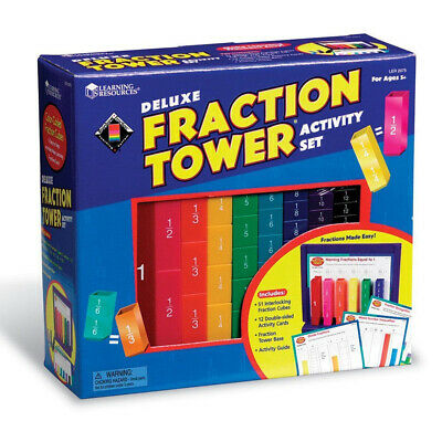 Learning Resources Deluxe Fraction Tower Activity Set