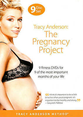 Tracy Anderson:  The Pregnancy Project - 9 DVD Set - Fitness - MINT DISCS...!!!