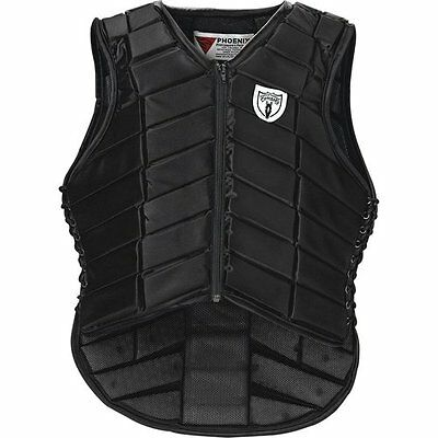 NEW Tipperary Eventer Safety Vest- Black- Various Sizes