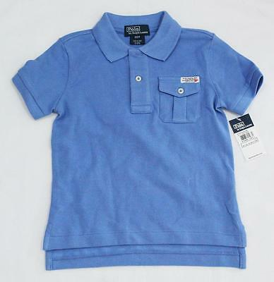 Ralph Lauren Toddler Boys Short Sleeve Polo Blue Size 2/2T Authentic From Us