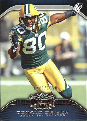 2010 Topps Triple Threads #33 Donald Driver /1350 - NM-MT