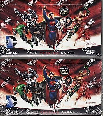 DC 52 - 2 Boxes (TWO BOXES) - Factory Sealed by Cryptozoic