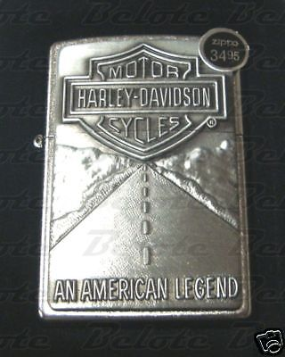 Zippo Harley American Legend Chrome Lighter 20229 *NEW*