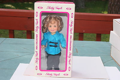 Vintage 1980'S IDEAL SHIRLEY TEMPLE STOWAWAY DOLL mint in box