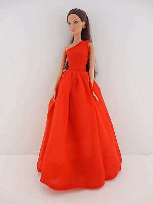 Stunning Rainbow Inspired Barbie Sized Doll Gown Made to Fit the Barbie Barbie S