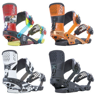 Ride Snowboard Bindings - Rodeo - Freestyle, Park, Aluminum, Two Strap, 2015