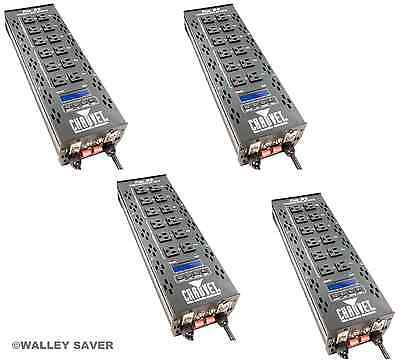 Lot of 4 Chauvet PRO D6 DIMMER PACK DMX STAGE LIGHT CONTROLLER & FREE SHIPPING!