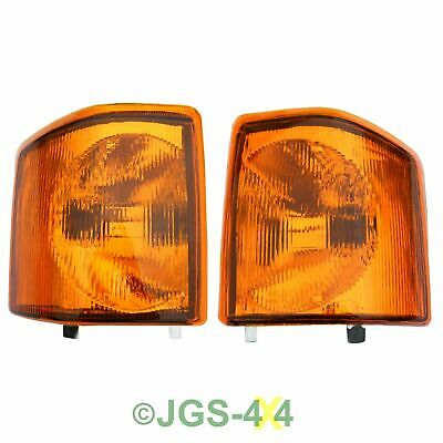 Land Rover Discovery 1 Front Indicator Lamps Lights - Amber
