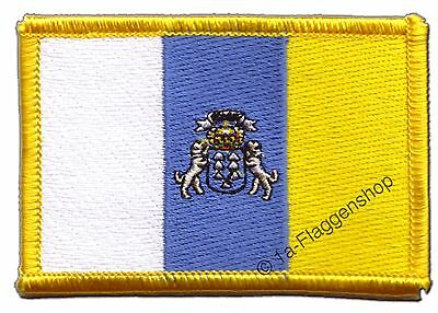 CANARY ISLANDS SPAIN PATCHES Flags Patch 8x6cm