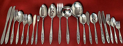 Oneida Community MY ROSE Stainless Well Used Silverware Flatware Pieces CHOICE