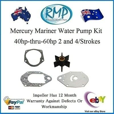 A Brand New Mercury Mariner Water Pump Kit 40hp-thru-60hp # R 47-19453T3
