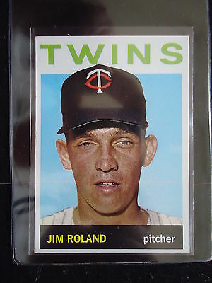 Jim Roland 1964 Topps Card #341 VG+