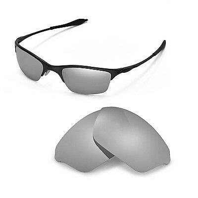 New WL Polarized Titanium Replacement Lenses For Oakley Half Wire XL Sunglasses