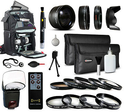 Backpack 40.5mm Lenses Filters Accessories for Sony A5100 1J1 A6000 NEX 6 6L 5T