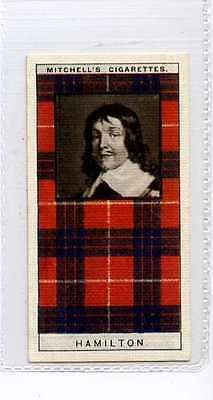 (Ja2111-100) Mitchells, Clan Tartans, Hamilton, 1927 #11