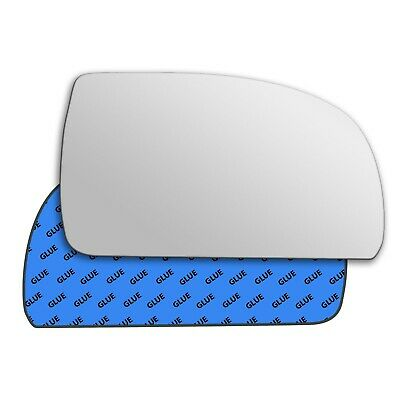 Left Passenger Side Heated Mirror Glass for Kia Carens 1999-2006 0535LSH