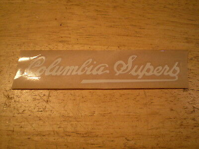 NOS Mint Prewar Columbia Bicycle Chainguard Decal