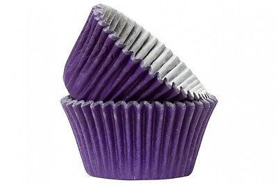Purple Cupcake / Muffin Cake Cases Different Quantities Available