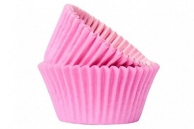 Baby Pink Cupcake / Muffin Cake Cases Different Quantities Available