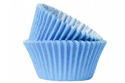 Sky Blue Cupcake / Muffin Cake Cases Different Quantities Available