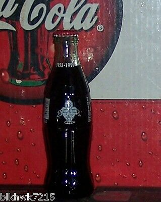 1999 BOSTON BRUINS 75 YEARS 1923  - 1999 8 OUNCE GLASS  COCA -  COLA BOTTLE