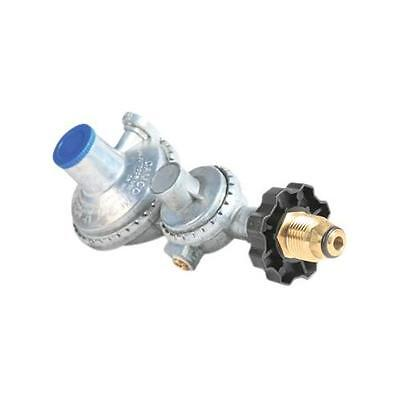 Camco 59333 Horizontal Two Stage Propane Regulator with POL New