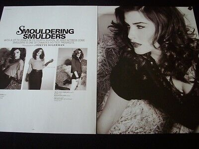 COBIE SMULDERS magazine clippings **