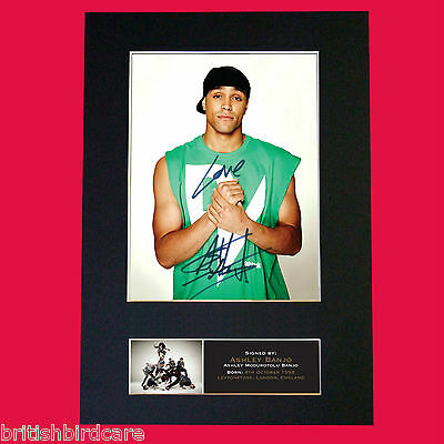 ASHLEY BANJO Diversity Signed Autograph Quality Mounted Photo PRINT A4 526