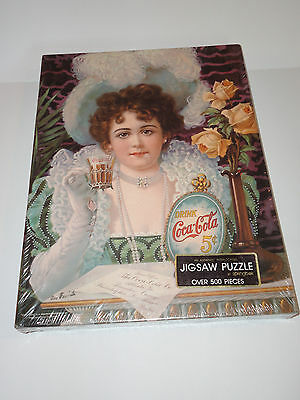 Vintage Factory Sealed Coca Cola Springbok Jigsaw Puzzle An Old Fashioned Girl