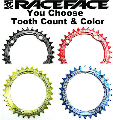 Race Face NW Single Narrow Wide 1x9/10/11 speed Bike Chain Ring 104mm 30 32 34t