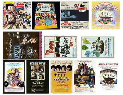 BEATLES MOVIE POSTER  PHOTO-FRIDGE MAGNETS