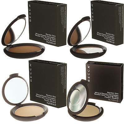 Becca Cosmetics Boudoir Perfect Skin Mineral Powder Foundation Makeup New SALE!!