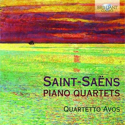 Quartetto Avos - Piano Quartets  Cd Neu Saint-Saens,charles Camille