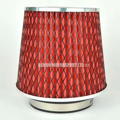 Performance Air Filter Red For Induction Kit 89mm or Choose Inlet Size (51800)
