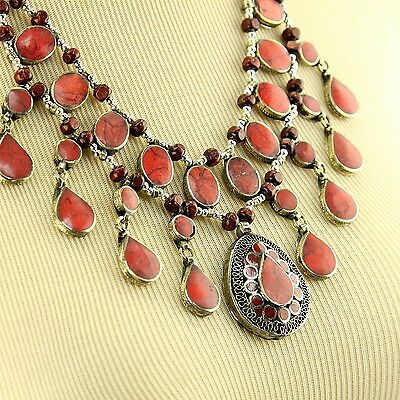 Belly Dance ATS tribal PENDANT Chain not included Afghani Kuchi 731b7