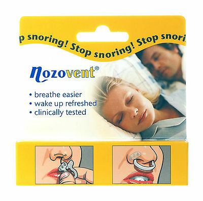 Nozovent Nasal Dilator Medium & Large Size Reduces Dry Mouth