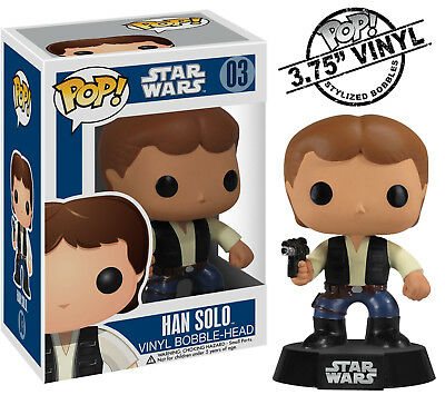 FUNKO POP STAR WARS HAN SOLO BOBBLEHEAD FIGURE