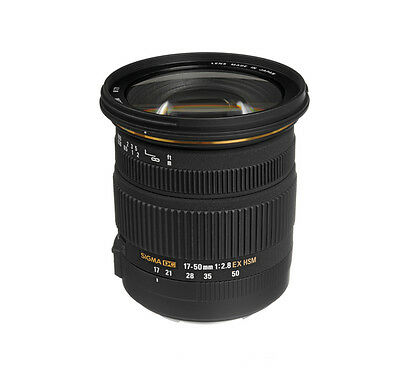 SIGMA 17-50mm f/2.8 EX DC OS Lens for CANON +4 YEAR WARRANTY T5i SL1 70d T4i T6s