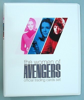 The Women of Avengers Trading Card Binder + Jacqueline Pearce Auto Card