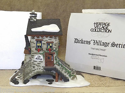 "Dept 56 Dickens Village ""the Maltings"" Retired #58335"