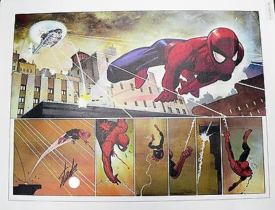 The Amazing Spider-Man #584 Giclee Canvas Signed by Stan Lee COA AP 01/20