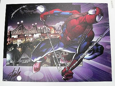 Ultimate Spider-Man #157 Marvel Giclee Canvas Mark Bagle Signed by Stan Lee COA