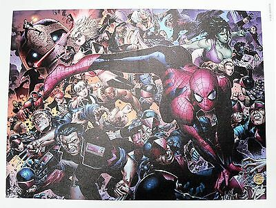New Avengers #45 Marvel Giclee on Canvas Signed by Stan Lee COA AP #02/20