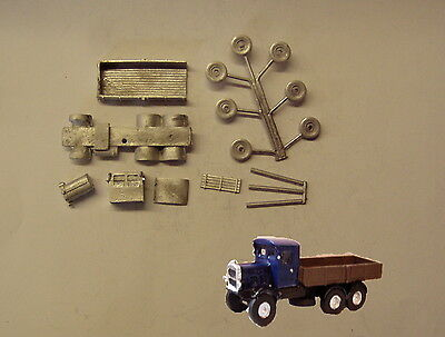 P&D Marsh N Gauge n Scale G27 Scammell openback lorry kit requires painting