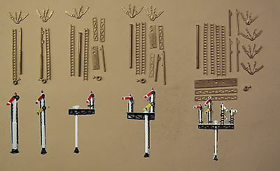 P&D Marsh N Gauge n Scale B356 GWR/BR signals box set kit requires painting