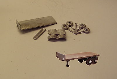 P&D Marsh N Gauge n Scale E12 Trailer for Diamond T kit requires painting