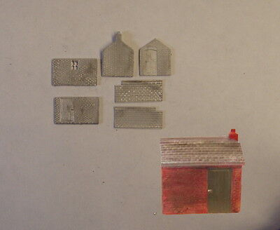 P&D Marsh N Gauge N Scale B503 Platelayers hut kit requires painting